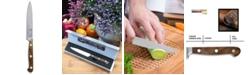 "Carl Schmidt Sohn TESSIN German 4.75"" Utility Knife with Walnut Handle"