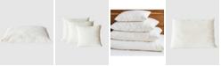 Holy Lamb Organics Natural Wool-Filled Bed Pillow with Organic Cotton Sateen Encasement, Euro