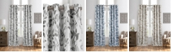 "Elrene Avalon Botanical Print 52"" x 95"" Blackout Curtain Panel"