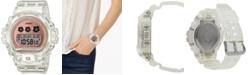 G-Shock Women's Digital Clear Resin Strap Watch 46mm
