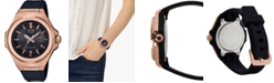 G-Shock Women's Solar G-MS Black Resin Strap Watch 38.8mm