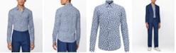 Hugo Boss BOSS Men's Ronni_F Dark Blue Shirt