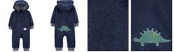 Carter's Baby Boy  Dinosaur Hooded Fleece Jumpsuit