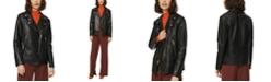 Marc New York Solar Leather Moto Jacket