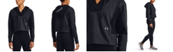 Under Armour Women's Rival Fleece Embroidered Hoodie