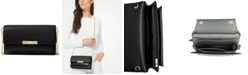 Michael Kors Jade Extra Small Leather Wallet Crossbody