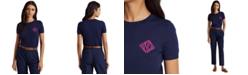 Lauren Ralph Lauren Intarsia-Knit Logo T-Shirt