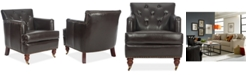 Safavieh Amsterdam Faux Leather Tufted Chair