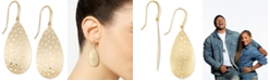 Simone I. Smith Simone I Smith Brushed Confetti Drop Earrings in 18k Gold over Sterling Silver