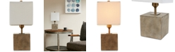 INK+IVY Quad Gray Accent Table Lamp