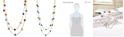 """EFFY Collection EFFY® Multistone Long 43"""" Strand Necklace (28-9/10 ct. t.w.) in 14k Gold"""