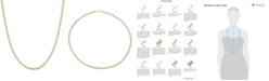 """Macy's 22"""" Nonna Link Chain Necklace (3-3/4mm) in 14k Gold"""