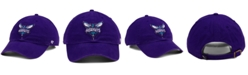 '47 Brand Charlotte Hornets CLEAN UP Strapback Cap