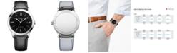 Baume & Mercier Men's Swiss Automatic Classima Black Leather Strap Watch 42mm
