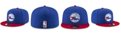 New Era Philadelphia 76ers Basic 2 Tone 59FIFTY Fitted Cap