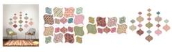 Brewster Home Fashions Boho Chic Ogee Wall Art Kit