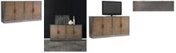 Hooker Furniture Melange Cooper Four-Door Credenza