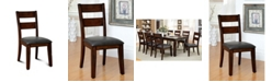 Furniture of America Arlen Dark Cherry Dining Chair (Set of 2)