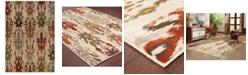 """Oriental Weavers CLOSEOUT!  Casablanca 4437A Ivory/Multi 7'10"""" x 10'10"""" Area Rug"""