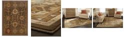 """Oriental Weavers CLOSEOUT!  Casablanca 4444A Mink/Multi 6'7"""" x 9'6"""" Area Rug"""
