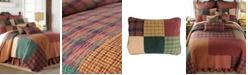 American Heritage Textiles Campfire Square Cotton Quilt Collection, Twin