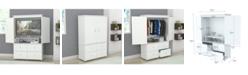 Inval America Armoire/AV Video Combo Cabinet