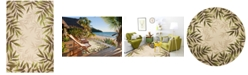 Kas Harbor Nature 4225 Sand Indoor/Outdoor Area Rug