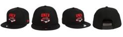 New Era UNLV Runnin' Rebels Black White Fashion 9FIFTY Snapback Cap