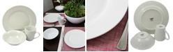 Laurie Gates Noble Court Fine Ceramic 12 Piece Dinnerware Set