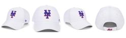 '47 Brand New York Mets White MVP Cap