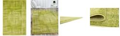 Bridgeport Home Linport Lin5 Light Green 4' x 6' Area Rug