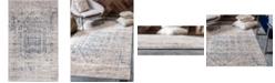 Bridgeport Home Odette Ode1 Gray 5' x 8' Area Rug