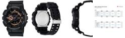 G-Shock Men's Analog Digital Black Resin Strap Watch 51x55mm GA110RG-1A