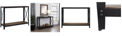 Gallerie Decor Industrial Console Table