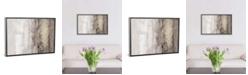 "iCanvas Glitter Rain I by Jennifer Goldberger Gallery-Wrapped Canvas Print - 26"" x 40"" x 0.75"""