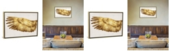 """iCanvas Golden Wing I by Kate Bennett Gallery-Wrapped Canvas Print - 18"""" x 26"""" x 0.75"""""""
