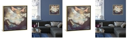 """iCanvas Moonlight Flight by Spacefrog Designs Gallery-Wrapped Canvas Print - 26"""" x 26"""" x 0.75"""""""