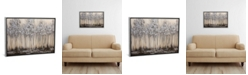 """iCanvas Silver Forest by Osnat Tzadok Gallery-Wrapped Canvas Print - 18"""" x 26"""" x 0.75"""""""