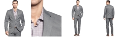 Calvin Klein Men's  Two-Button Greystone Blazer