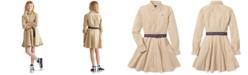 Polo Ralph Lauren Big Girls Cotton Chino Shirtdress