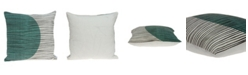Parkland Collection Linea Transitional Multicolor Pillow Cover