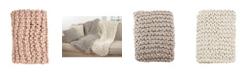 Saro Lifestyle Chunky Knit Throw