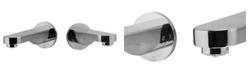 ALFI brand Polished Chrome Wallmounted Tub Filler Bathroom Spout