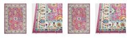 Global Rug Designs Global Rug Design Burst BUR09 Pink Area Rug Collection