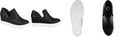 Journee Collection Women's Cardi Sneaker Wedge