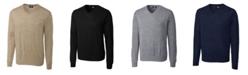 Cutter & Buck Cutter and Buck Men's Big and Tall Douglas V-Neck Sweater