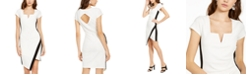 Almost Famous Juniors' Notch-Neck Bodycon Dress