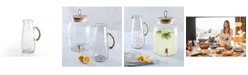 Cravings by Chrissy Teigen Sand Glass 1.8 Quart Pitcher, Created for Macy's
