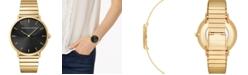 Rebecca Minkoff Women's Major Gold-Tone Stainless Steel Bracelet Watch 40mm