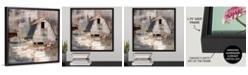"GreatBigCanvas 'Early Americana' Framed Canvas Wall Art, 16"" x 16"""
